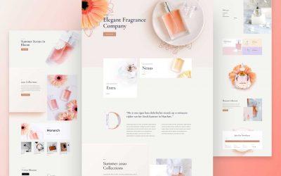 Site pour Parfumerie