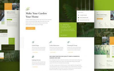 Site pour Jardinier