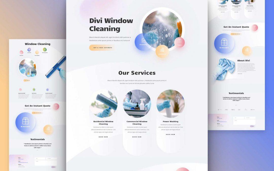 Création de Site internet pour Entreprise de Nettoyage