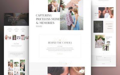 Site pour Photographe