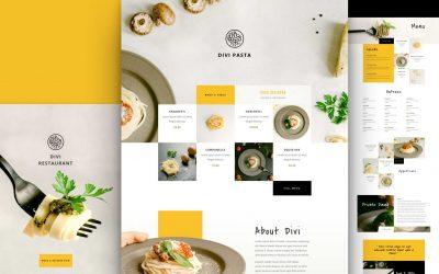 Site pour Restaurant italien