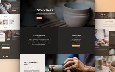 Site pour Artisan Potier
