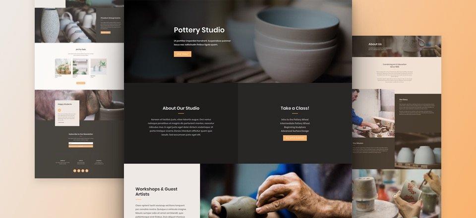 Création de site internet pour Artisan Potier, Céramiste, Faïencier...